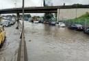 Flood Takes Over Lagos, Slows Traffic