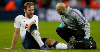 Kane Out Until March With An Ankle Injury