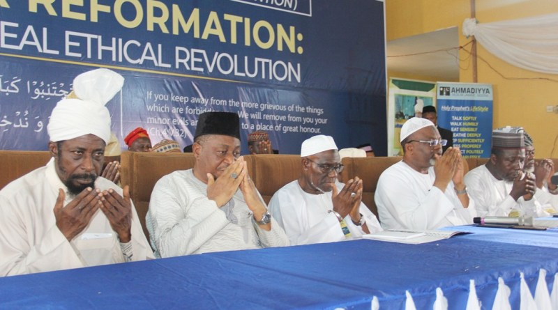 Images From Ahmadiyya Nigeria 44th National Annual Ijtema Majlis Ansarullah In Ogun State