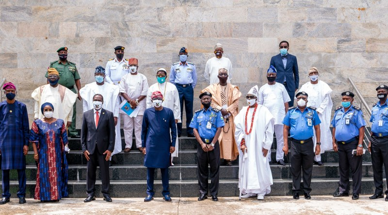 Community Policing Takes Off In Lagos, As Sanwo-Olu Inaugurates Operations Teams