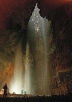 Gaping Gill Waterfall
