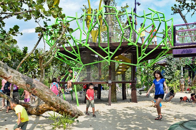 Garden By The Bay Playground outdoor playgrounds - singapore for kids - world top top