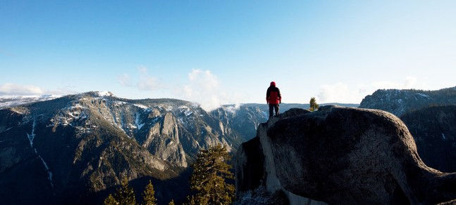 Yosemite National Park in the USA