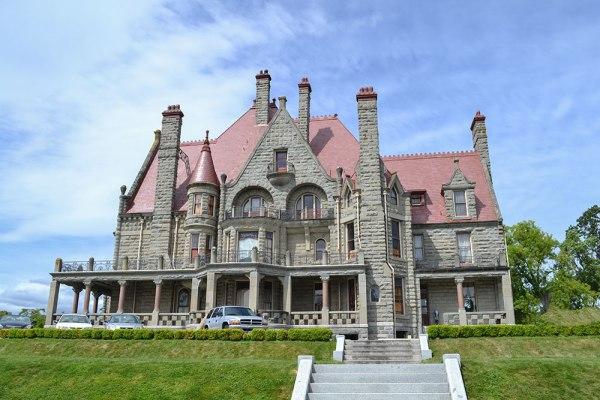 Historic Craigdarroch Castle in Victoria, Canada