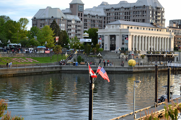 The Inner Harbour of Victoria, BC, Canada