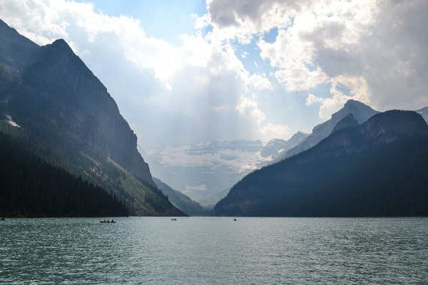 One of the fun attractions near Calgary is the famous Lake Louise