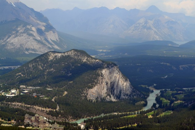 One of the fun things to do near Calgary is to see the view of Banff from the gondola