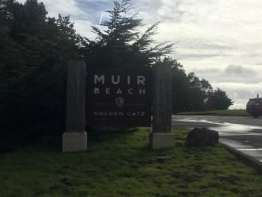Muir Beach Overlook Sign
