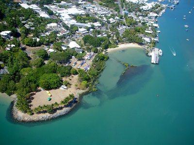 Rex Smeal Park and the Sugar Wharf Port Douglas