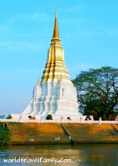 boat trip aytthaya thailand