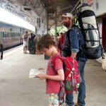 Travelling with kids, tips for backpacking with kids
