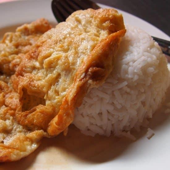 What is Thai food? Thai Food Thai Omelette Rice. Thai food for beginners