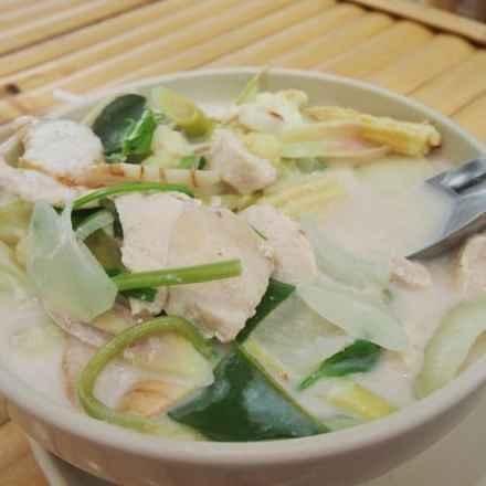 Thai Food for beginners Tom Ka Gai
