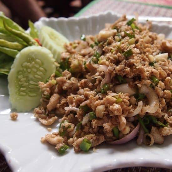 Thai Food. Laarb or Larp. Thailand