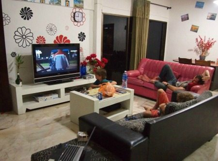 Cheap family accommodation Malaysia. Casa Blanca Guest House