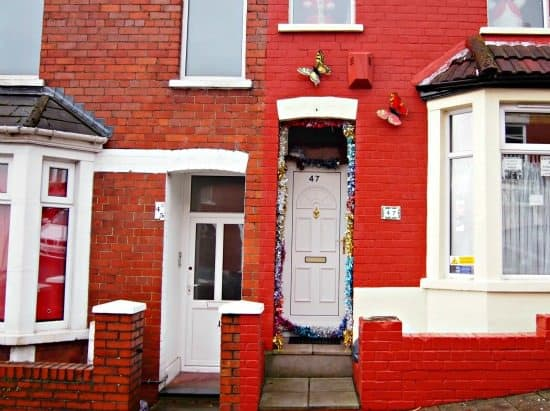 Barry Island Wales. 47 Trinity St. The Gavin and Stacey House