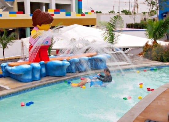 Lego build a raft River Legoland water park Malaysia review