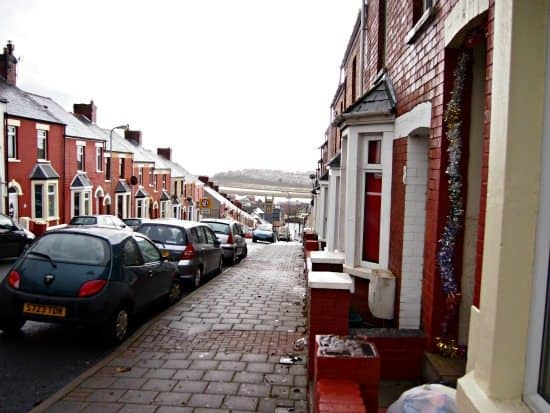 Barry Island Wales Trinity St. Where Gavin and Stacey lived