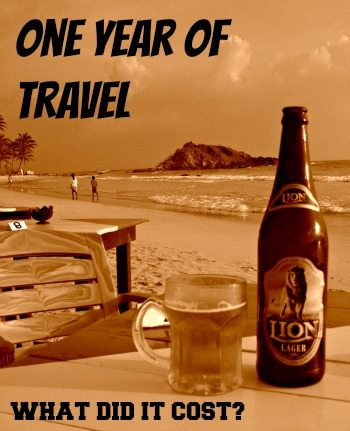 Cost to travel the world for a year. Cost of travelling the world. World Travel Family travel blog.