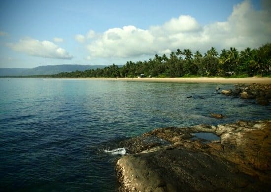 Four Mile Beach Port Douglas. Rock pools. Where to stay in Port Douglas and the best hotels, hostels and camp sites.