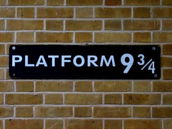 Platform 9 3/4 kings cross london