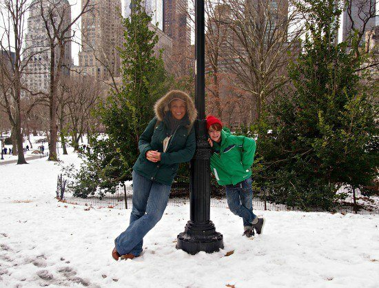 winter in new york. Family travel blog and travelling family adventures.