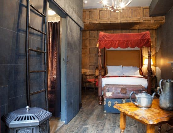 Georgian House Hotel Wizarding Chambers. Harry Potter Experiences Around the World from World Travel Family.