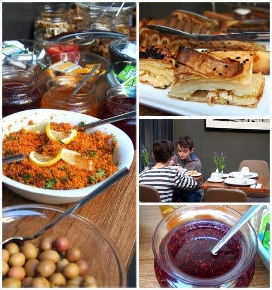 Alilass Hotel Sultanahmet breakfast