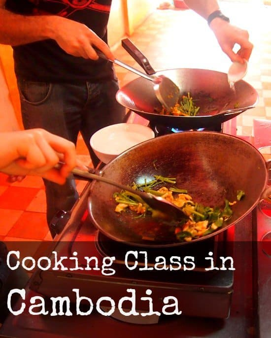 Cambodian Cooking Class. Khmer food.