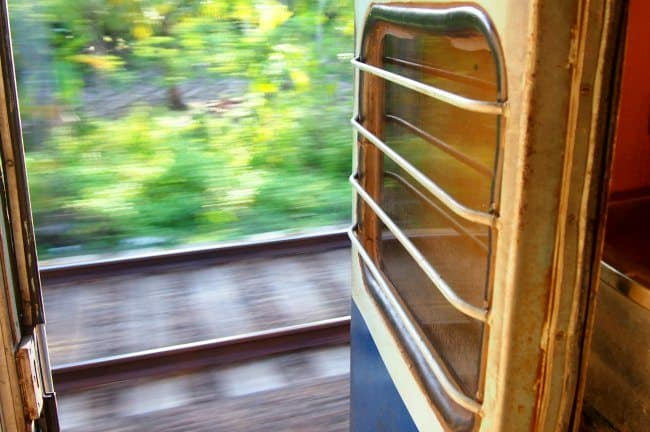 Train travel in India. Travel blog.