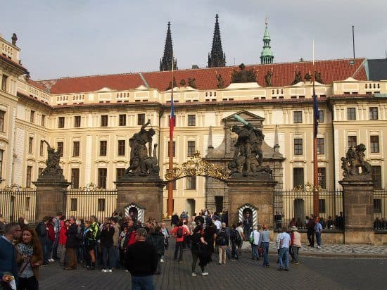 Prague Palce. Highlights of Prague Tour.