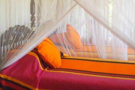 Downstairs twin bedroom max wadiya villa
