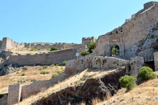 Places to visit in Greece Corinth Fort