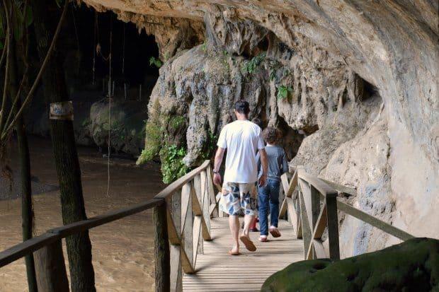 Lod cave near Pai Thailand
