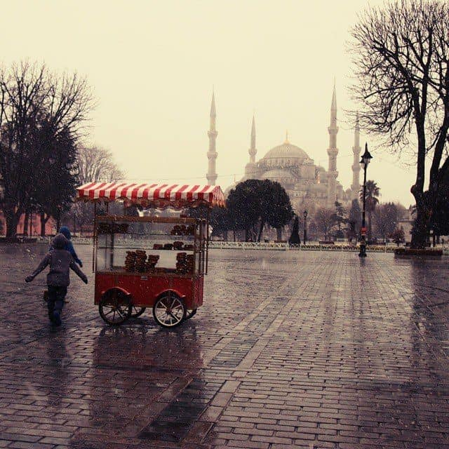 Stnow in Istanbul