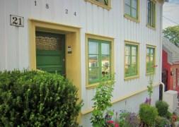 Osloer Architektur: Schicke Häuser und Nummer 21 ;)