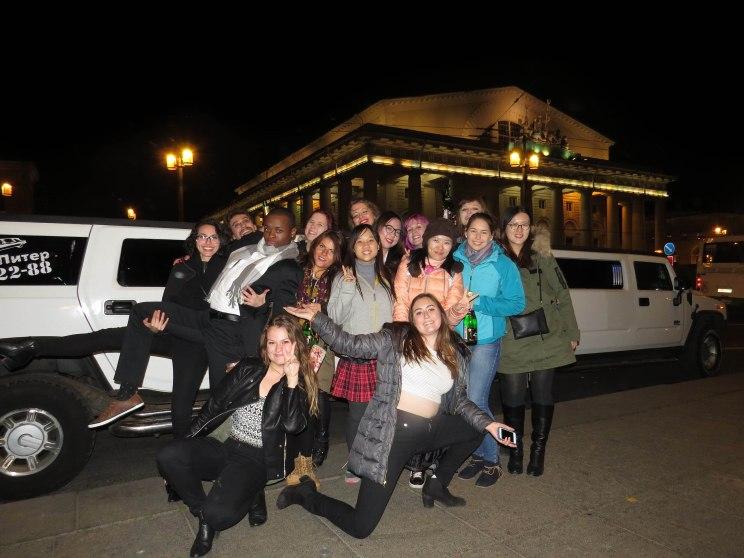 Limousine-Partygroup