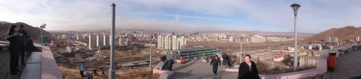 Panoramic view from Zaisan
