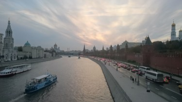 Moscow says goodbye with sunshine!