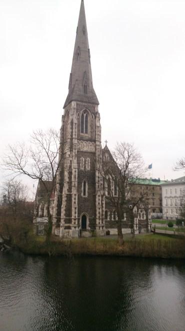 St. Albans Kirche im Kastell Viertel