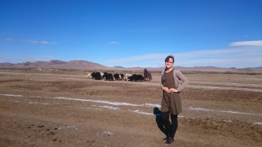 YAKS AND ME :D