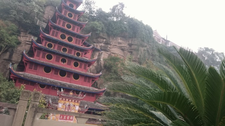 The red pagoda