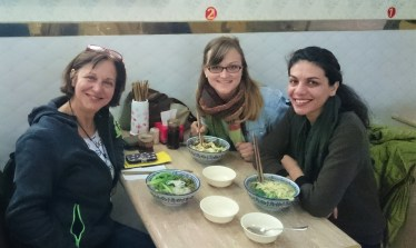 Lunch with a Iranian-Australian girl we met on the way