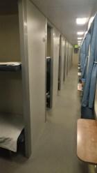 the floor in 3rd class/ hard sleeper