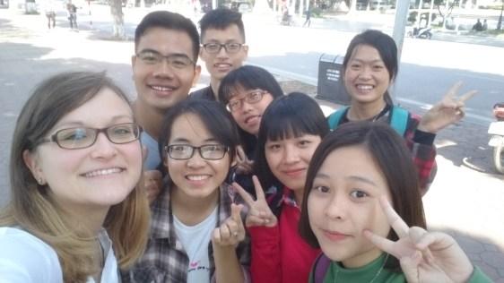 Met some Vietnamese on the way ;)
