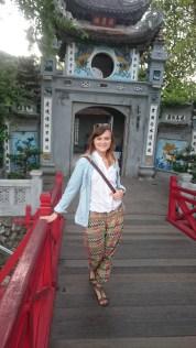 Temple on Jade Island in Hanoi