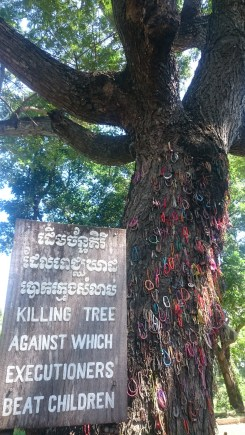 Killing tree against which babys got smashed