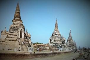 Ayutthaya main temple