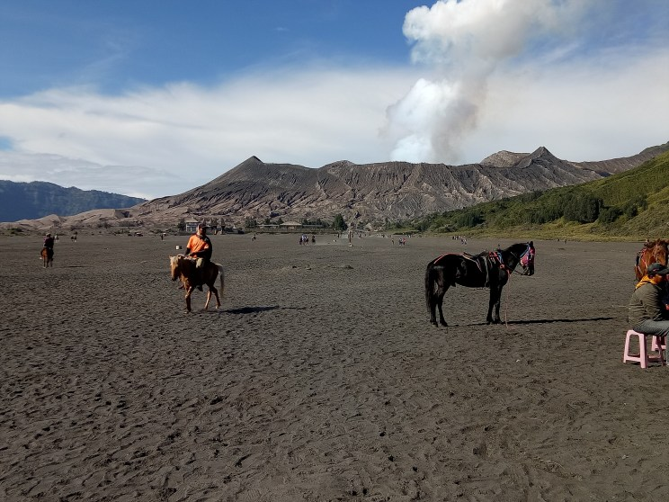 Bromo vulcano on Java
