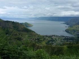 Lake Toba created 75.000 years ago